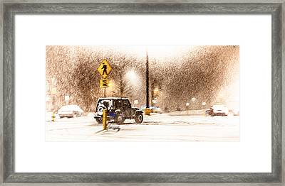 It's A Jeep Thing Framed Print