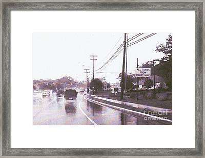It's A Jersey Thing. Framed Print