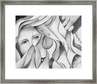 Its A Jungle Out There Framed Print