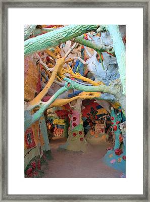 It's A Magical World Framed Print