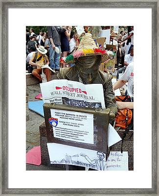 Framed Print featuring the photograph Its A New Dawn by Ed Weidman