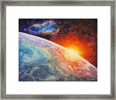 It's A New Day Framed Print by Susan Card