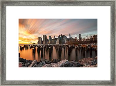 Its A New Year  Framed Print