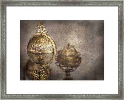 Its A Small World Framed Print by Heather Applegate