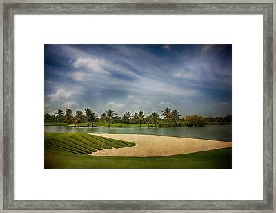 It's A Trap Framed Print by Laurie Search