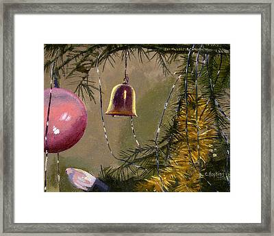 It's A Wonderful Life Bevin Bell Factory East Hampton Connecticut Framed Print by Christine Hopkins
