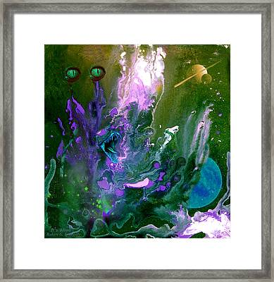 It's Alive Framed Print