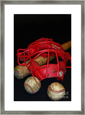 Its All About Baseball Framed Print by Paul Ward