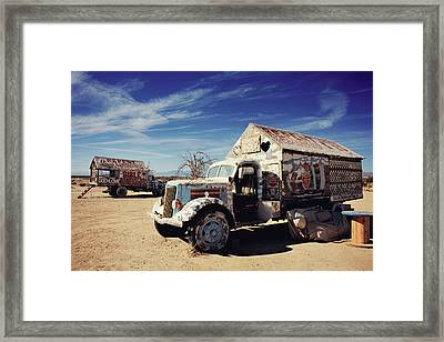 It's All About Love Framed Print by Laurie Search