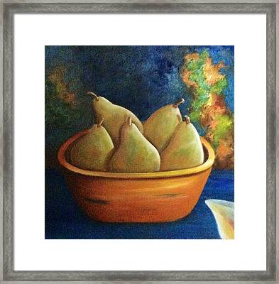 It's All About Pears  Sold Framed Print