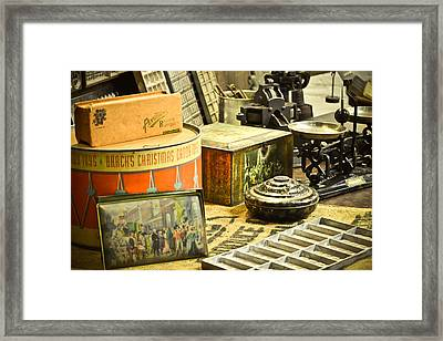 It's All About The Candy Framed Print