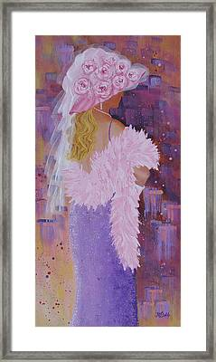 It's All About The Hat Framed Print by Margaret Bobb