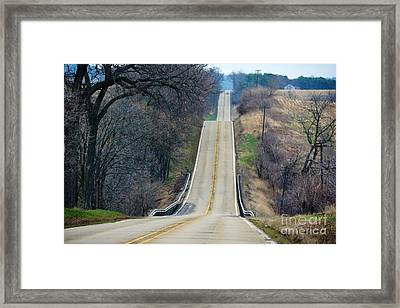 It's All About The Journey  Framed Print