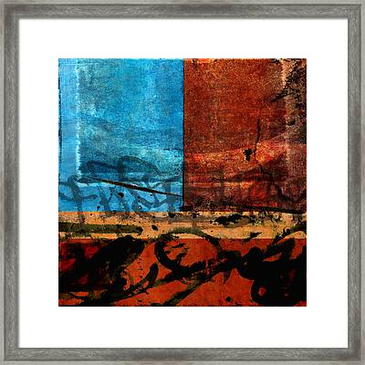 It's All Been Said Before Framed Print by Carol Leigh