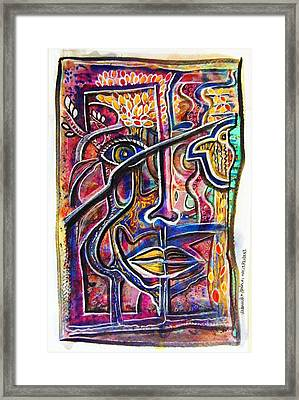 It's All Connected Framed Print by Mimulux patricia no No