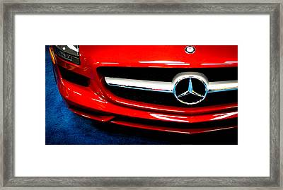 It's All Red Framed Print by Ronda Broatch