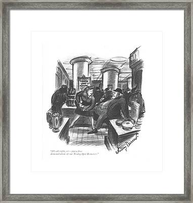 It's All Right Framed Print by Whitney Darrow, Jr.