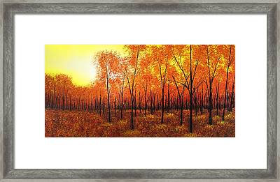 It's Almost Over Framed Print by Justin  Strom