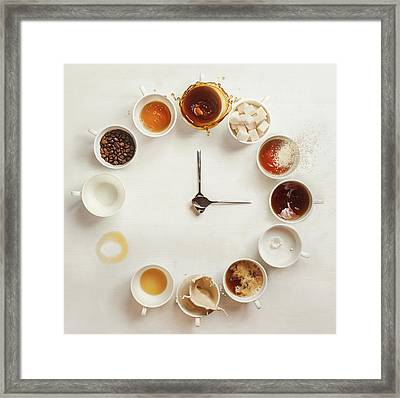 It's Always Coffee Time Framed Print