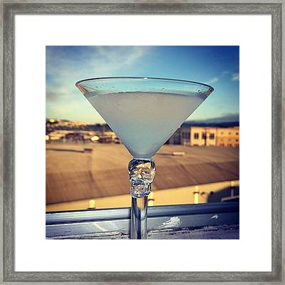 Its Been Awhile... But #happyhour At My Framed Print