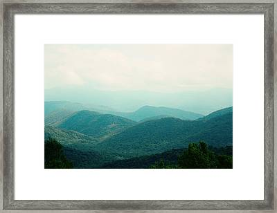 It's Better In The Mountains Framed Print by Kim Fearheiley