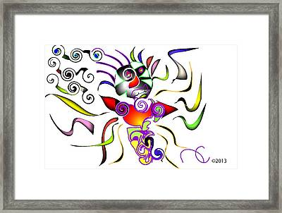 Its Bitsy Crazy Framed Print by Andy Cordan