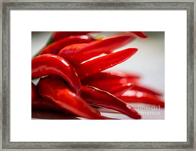 It's Chili Hot - By Sabine Edrissi Framed Print