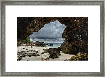 It's Coming Framed Print by Mario Legaspi