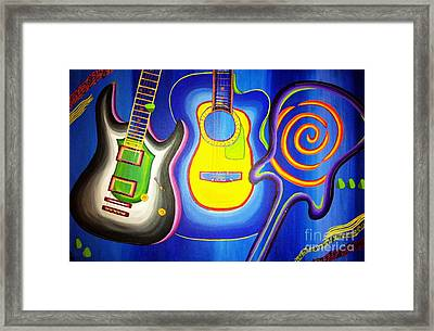 It's Electric Framed Print by Nicolette Maw