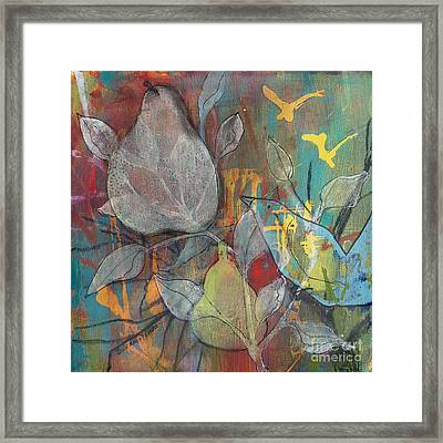Framed Print featuring the painting It's Electric by Robin Maria Pedrero