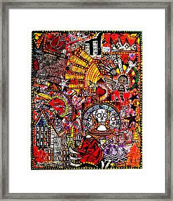 Valley Of Bones Framed Print