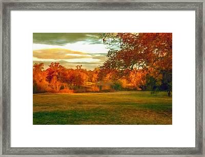 It's Fall Y'all Framed Print