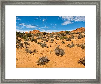 Its Getting Hot In Here Framed Print