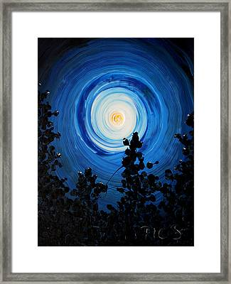 It's Getting Late Framed Print by Ric Bascobert