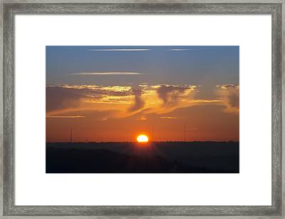It's Gonna Be A Good Day Framed Print by Bill Cannon