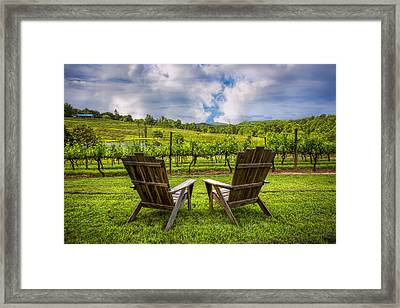 It's Happy Hour Framed Print by Debra and Dave Vanderlaan