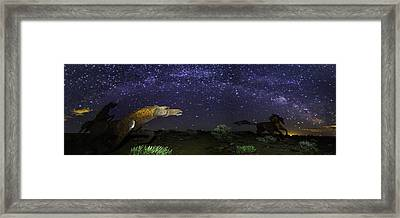 Its Made Of Stars Framed Print