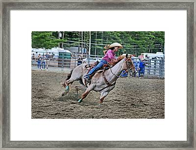 Its My Best Run Framed Print by Gary Keesler