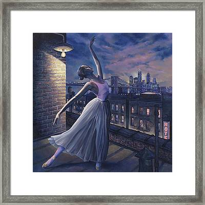 It's Never Too Late Framed Print by Dennis Goff