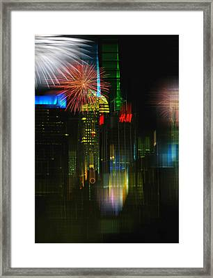 It's New York Framed Print by Diana Angstadt