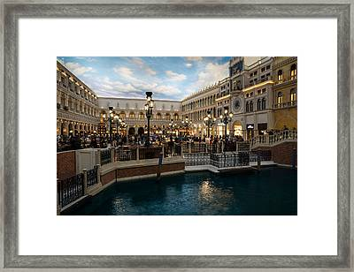 It's Not Venice Framed Print