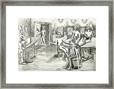 Its On Me Framed Print by Genevieve Esson
