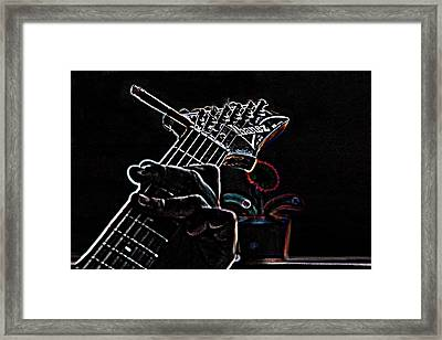 It's Only Dangerous On The Solos Framed Print by Bartz Johnson