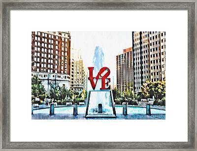 It's Only Love Framed Print by Bill Cannon