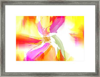 It's Only Love Framed Print by Diana Angstadt