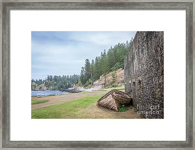 It's Over Framed Print by Jola Martysz