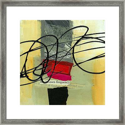 Its Own Frequency Framed Print