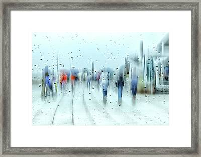 It`s Raining Framed Print