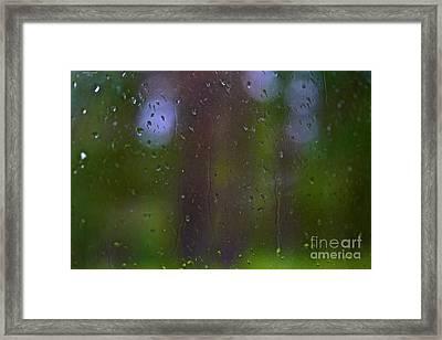 It's Raining Nostalgia - Tribute To Alfred Stieglitz - Pictorial Photography. Framed Print
