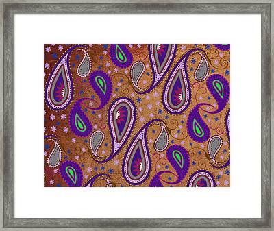 It's Raining Paisley Series 1 Framed Print